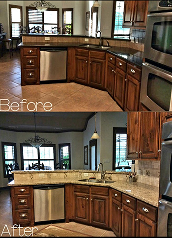 A Action Kitchen Remodel - Bryan/College Station, Texas